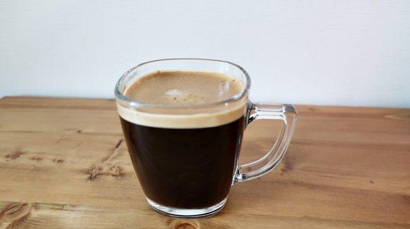 ネスカフェバリスタで作ったコーヒー