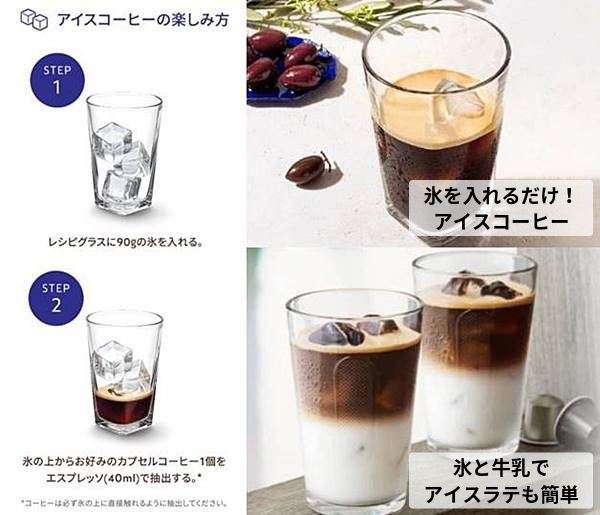 アイスコーヒーは氷を入れて抽出するだけ