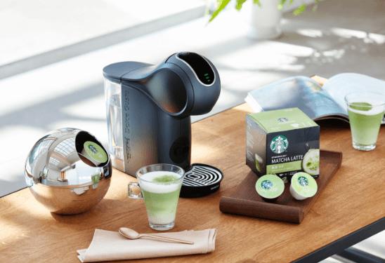 ドルチェグストの抹茶ラテスタバカプセル